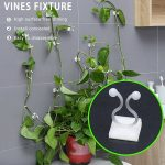 10/20/50pcs Plant Climbing Wall Clip Invisible Wall Vines Fixture Wall Sticky Hook Holder Plant Cages & Supports