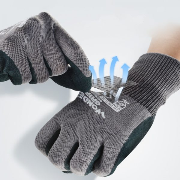 Garden Gloves Gardening Nitrile Rubber Gloves Quick Easy To Dig and Plant for Digging Planting Garden Tools Drop Ship