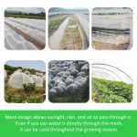 Garden Vegetable Insect Net Cover Plant Flower Care Protection Network Bird Insect Pest Prevention Control Mesh 6/10M Long