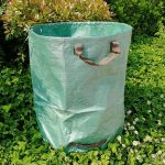 4pcs 272L Large Capacity Garden Bag Foldable Garden Garbage Reusable Leaf Sack Trash Can Grow Bags Waste Collection Container