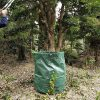 4pcs 272L Large Capacity Garden Bag Foldable Garden Garbage Reusable Leaf Sack Trash Can Grow Bags Waste Collection Container (4PCS)