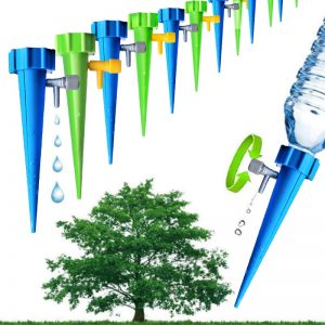 5pcs Automatic Irrigation Watering Spike for Plants Flower Indoor Household Auto Drip Irrigation Watering System Waterer