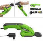 WORKPRO 2 in 1 Electric Trimmer 7.2V Lithium-ion Cordless Hedge Trimmer for Garden Power Tools Electric Pruning Shears Pruner