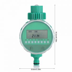 5 Shape Automatic Intelligent Watering Controller Timer LED Display Garden Watering Timer Irrigation System Garden Hose Kits