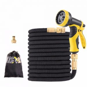 15-100FT TPE Garden Hoses Drip Irrigation System Expandable Flexible Magic Watering Hoses With Faucet connector Car Wash Nozzle