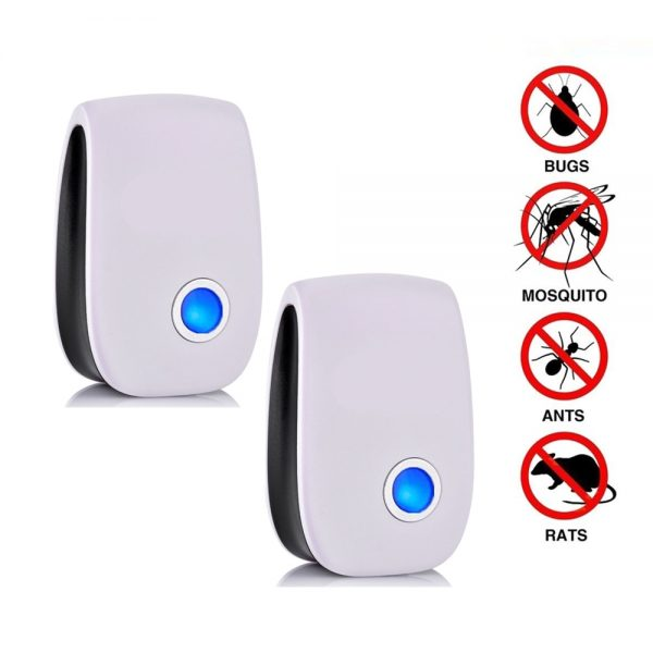 2/4/6/8 Pack Ultrasonic Pest Repeller Reject Electronic Repellent Killer Anti Mosquito Insect Repelent Rejector USA Dropshipping