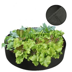 Large Capacity Growing Bag Container Garden Vegetable Box Non-Woven Fabric Planting Bag Growing Green Flower Plants Garden Bags