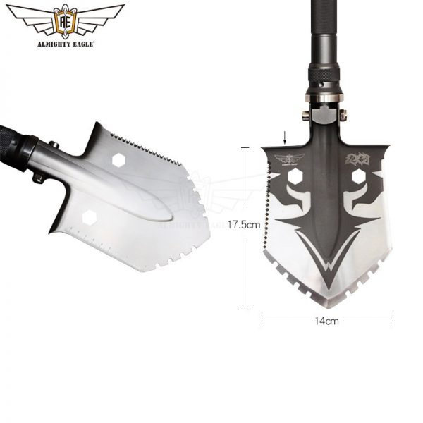 ALMIGHTY EAGLE Professional outdoor survival Tactical Multifunctional Father's gif Shovel folding Tools Garden camping equipment