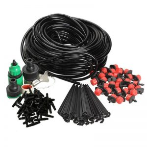 25m/20m/10m DIY Micro Drip Irrigation System Garden Hose Dripper Connector Kits Plant Spray Self Automatic Watering Kits System