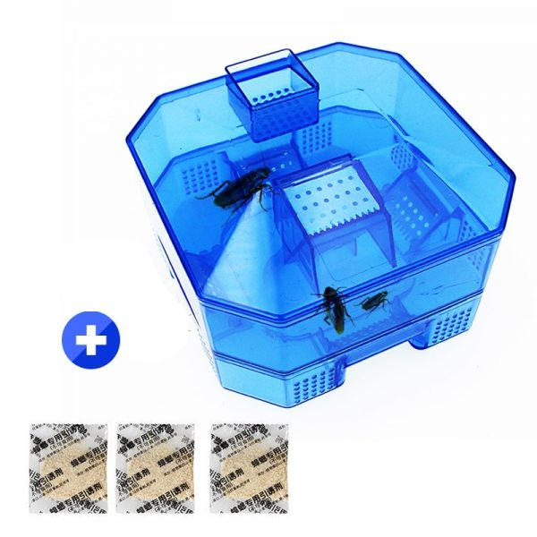 4pcs Cockroach Trap Fifth Upgrade Safe Efficient Anti Cockroaches Killer Plus Large Repeller No Pollute For Home Office Kitchen