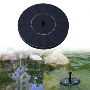 Solar Fountain Water Fountain Pump for Garden Pool Pond Watering Outdoor Solar Panel Floating Pumps for Fountain Garden Decor