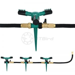 Lawn Sprinkler Automatic 360 Rotating Garden Water Sprinklers Lawn Irrigation Lawn irrigation yard irrigation cooling #0424