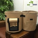 Potato growing bag Planting Fabric Pots with Handle and Flap, Garden Bags for Vegetables, Tomatoes, Carrots, Onions