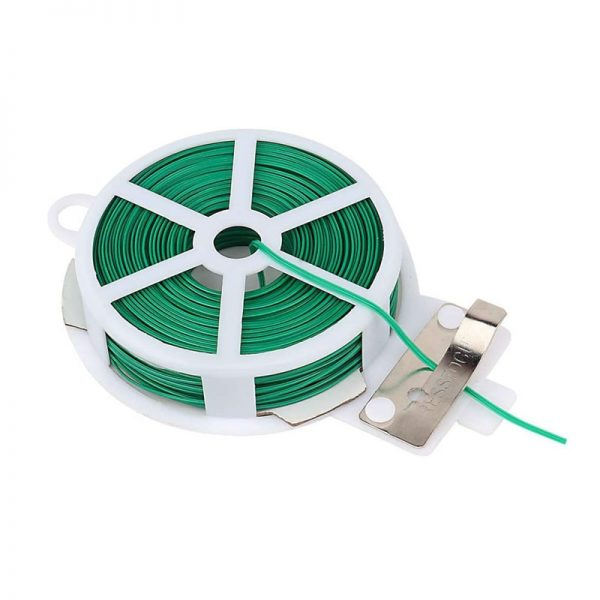 100M 50M Nylon Garden Cable Ties Power Wire Loop Tape Flower Cable Tie Wire Multifunction Straps Fastener Reusable Magic Tape
