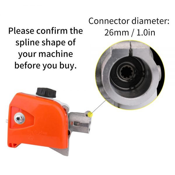 Woodworking Tool HT KM 73 Lawn Mower Accessories 130 Series Pole Saw Trimmer Connector Pole Pruning Saw Power Tool Grinder