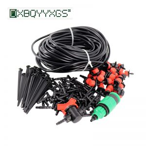 25M garden drip irrigation automatic watering systems for greenhouses system planten water geven gardening tools and equipment